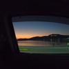 旅の始まり。山口県の阿武の夕日は見てほしい。