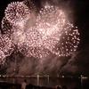 2017年8月15日のあしだ川花火大会