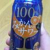 果汁100% みかんのサワー@セイコーマート