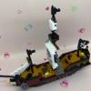 ナノブロック海賊船