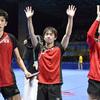 卓球男子団体で日本が4強 香港に3―1