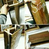 100均DIYでチョークレタリング入りの男前 収納ボックスを作る!