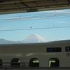 【旅行記】富士山を見に行く① N700Sと新幹線からの富士山