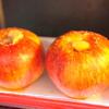 #0211 サクッと簡単にできる焼きリンゴ+バニラアイスが美味しい。