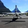 ミルフォードサウンド 空港 絶景の遊覧飛行の始まり 2017シドニー・ニュージーランドその20