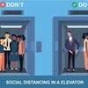 満員のエレベーターに感じる違和感!?
