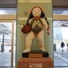 金沢駅にある「郵太郎ポスト」