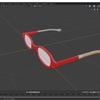 Blender 2.8でモデリングする その12(レンズ部分の着色)