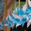 川越氷川神社は、縁結び風鈴も綺麗だけど6月のかざぐるまも綺麗