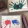 こどもの日の手形アート