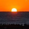 浜ちゃん日記  平成30年元日の日の出と夕日、満月