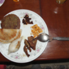 ネパ-ル滞在日記 続編 その13回目  ネパ-ルの夕食 2回目 ネパ-ル食のダル・バ-ト