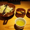 別盛りかつ鍋定食。横浜高島屋「かつ久無庵」