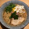 MENSHO TOKYOでラム煮干中華そば(後楽園)