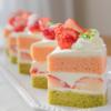 ひし餅!?ひな祭りにぴったりの、ふわっふわひし餅ケーキ | レシピ・作り方