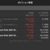 VXX売り、VXZ買いのコンビネーション取引を組んでみました。