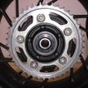 【CBR650F】タイヤ交換①(リアタイヤの取外し)