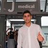 クリスティアン・ロメロがJメディカルに到着し、ユベントスのメディカル・チェックを受診