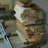 木材を出すのは晴れたときに
