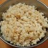 圧力鍋を使った玄米の炊き方