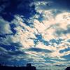 かっこいい雲の写真