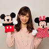 ディズニーの英語システム(DWE)40周年のお祝いにタレントの小倉優子さんが駆けつけてくれました!