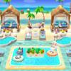 【ポケ森】プールパラダイスの流れるプール楽しくて可愛い過ぎ!