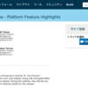 SFDC:【Webinar】Spring '15 Release Preview - Platform Feature Highlightsを見てみました