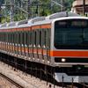 7/24  E231系元B30編成NN出場回送