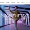 「THETA Z1」専用サイトオープン