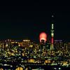 【一眼レフ】筑波山に夜景を撮りに行ってきた