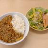 豚ひき肉とネギたっぷりの根菜和出汁カレー