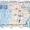 2017年09月26日 12時00分 秋田県内陸南部でM3.2の地震