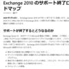 Office Exchange Server 2010のEOS期日が延長されました