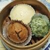 アレルギーの子どもも食べられる『3色蒸しパン』保育園の給食室で作っていたレシピです