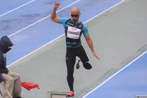 【パラ陸上】日本選手権・最終日~止まない雨と風に第一人者も苦しんだ