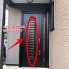 玄関ドアを開けずに風を取り込むことができるんです!