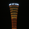2015.7 メリケンパークの朝焼け(神戸市)+阪神高速