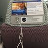 USBが挿せるコンセントが座席に・・・旅先では本当に便利!