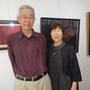 沢山の方が鑑賞に訪れました。ー菅野偉男・恵美子さん二人三脚の二人展