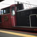 京都嵯峨野のトロッコ列車は、チビにとっては『京都最強の観光地』