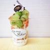 All day dining Hikari @横浜高島屋(催事) 桃とシャインマスカットとピオーネのフルーツパフェ