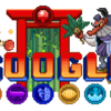今日のGoogleのロゴは(・ω・)
