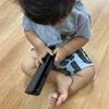 子育て 次男1歳 ワイヤレスキーボード