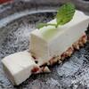 *お豆腐とナッツのレアチーズケーキ*