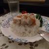 炊飯器でつくったカオマンガイ
