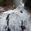 紅葉谷氷瀑2018再再訪は最強氷瀑でした(その4)似位滝