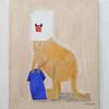 紙袋をかぶったカンガルーの絵を販売開始しました