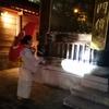 真夏の夜の和傘と、距離が近くなった「あゆみ」。