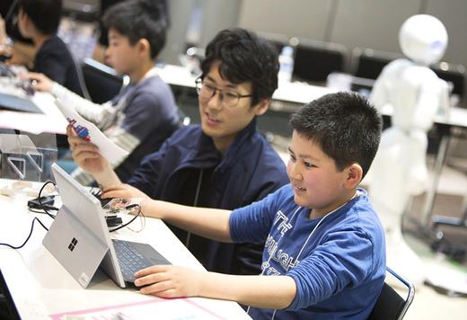 プログラミングで目指せ未来のクリエイター! 遊び × 学びの「春休みPepperすごろくトライアル」